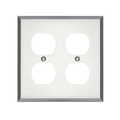 Graham Double Duplex Socket Plate Finish: Polished Chrome