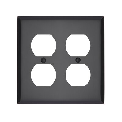 Graham Double Duplex Socket Plate Finish: Oil-Rubbed Bronze