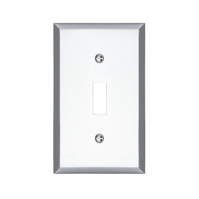 Graham Single Light Switch Cover Finish: Polished Chrome