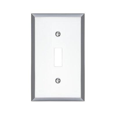 Graham Single Light Switch Cover Finish: Polished Chrome