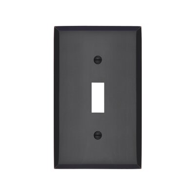 Graham Single Light Switch Cover Finish: Oil-Rubbed Bronze