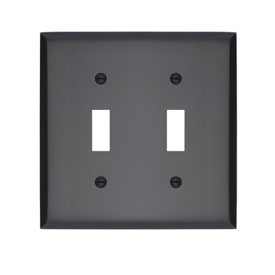 Graham Double Light Switch Cover Finish: Oil-Rubbed Bronze