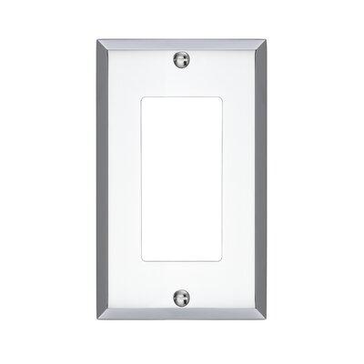Graham Single Rocker Light Switch Cover Finish: Polished Chrome