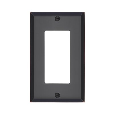 Graham Single Rocker Light Switch Cover Finish: Oil-Rubbed Bronze
