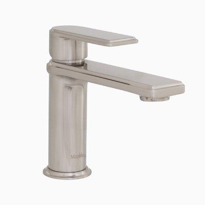Arminius Lever Single Hole Handle Bathroom Faucet Finish: Brushed Nickel