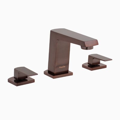 Augusta Widespread Double Handle Bathroom Faucet Finish: Oil Rubbed Bronze