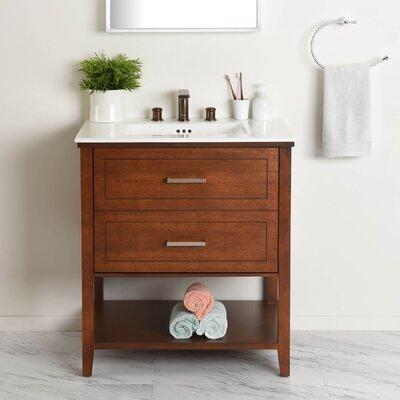 Bickerstaff Single Bathroom Vanity Set Size: 34.25 H x 30.5 W x 22 D