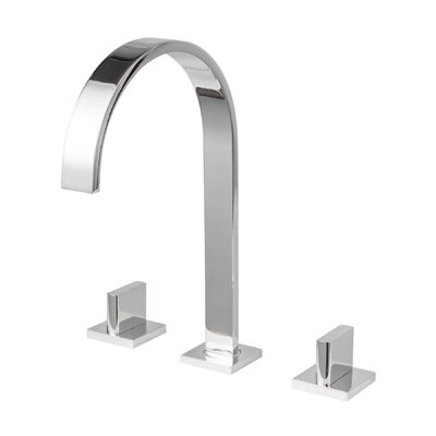 SoHo Widespread Lever Double Handle Bathroom Faucet Finish: Polished Chrome