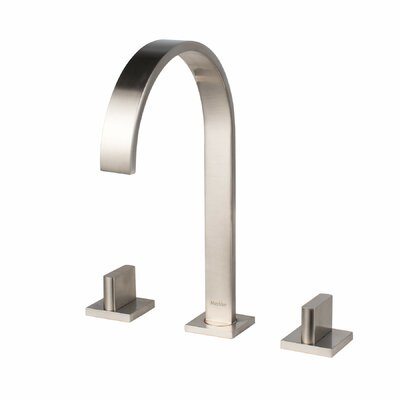 SoHo Widespread Lever Double Handle Bathroom Faucet Finish: Brushed Nickel