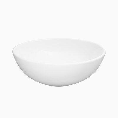 Capel Circular Vessel Bathroom Sink with Overflow