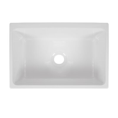 Victoria Fluted Fireclay 30 x 20 Farmhouse Kitchen Sink