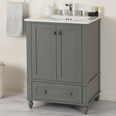 Potomac Single Bathroom Vanity Set Size: 34.31 H x 30.5 W x 22 D