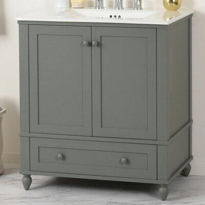 Potomac Single Bathroom Vanity Set Size: 34.31 H x 24.5 W x 22 D