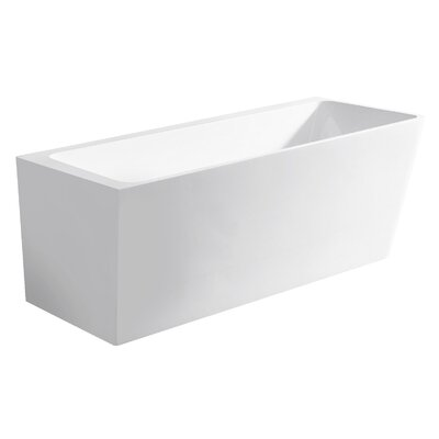 Vigo 67 x 31 Freestanding Soaking Bathtub