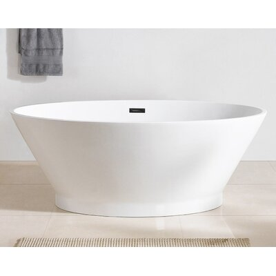 Hazel 67 x 38 Freestanding Soaking Bathtub