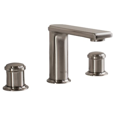 Arminius Widespread Bathroom Faucet Finish: Brushed Nickel