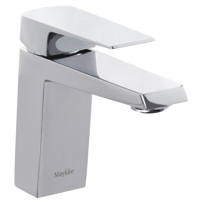 Augusta Single Hole Single Handle Bathroom Faucet Finish: Polished Chrome
