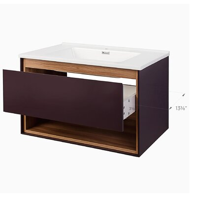 Australis Modern 31 Single Bathroom Vanity Set