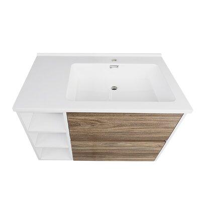 Australis 31 Wall Mount Single Bathroom Vanity Set