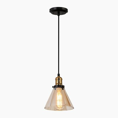 Fonda 1-Light Metal Mini Pendant