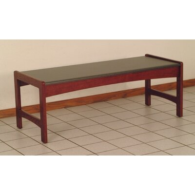 Dakota Coffee Table Color: Dark Red Mahogany