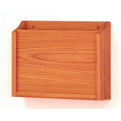 HIPPAA Compliant Chart Holder Wood Finish: Medium Oak