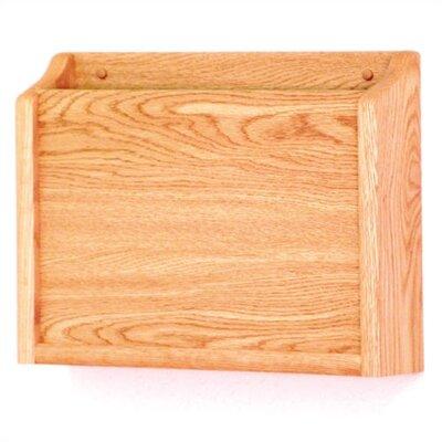 HIPPAA Compliant Chart Holder Wood Finish: Light Oak
