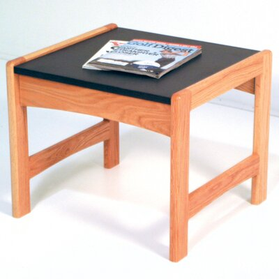 Contemporary End Table Color: Light Oak