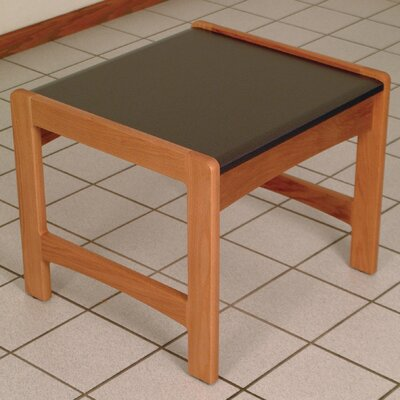 Contemporary End Table Color: Medium Oak