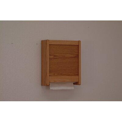 Paper Towel Dispenser Finish: Light Oak