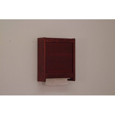 Paper Towel Dispenser Finish: Mahogany