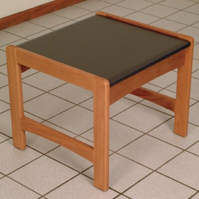 Dakota Wave End Table Color: Medium Oak