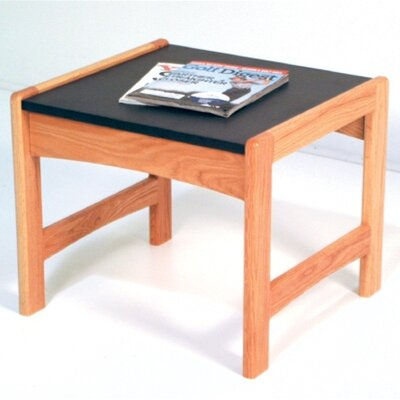 Dakota Wave End Table Color: Light Oak