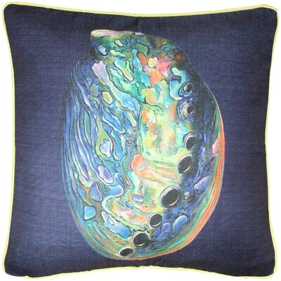 Vallo Abalone Solitaire Throw Pillow