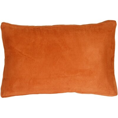 Chilverton Edge Lumbar Pillow Color: Burnt Orange