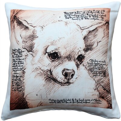Cedarfields Chihuahua Dog Indoor/Outdoor Throw Pillow