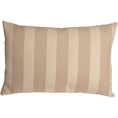 Boutin Stripes Rectangular Lumbar Pillow Color: Cream