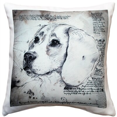 Cavandale Beagle Dog Indoor/Outdoor Throw Pillow