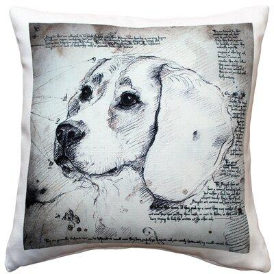Beagle Dog Indoor/Outdoor Throw Pillow