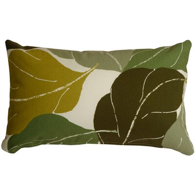 Medford Lumbar Pillow Color: Green