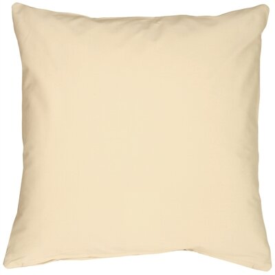 Caravan Cotton Throw Pillow Size: 20 H x 20 W x 6 D, Color: Cream