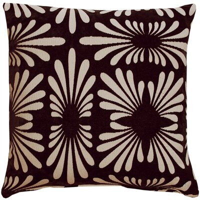 Anmoore Throw Pillow Color: Black