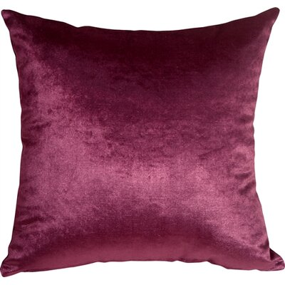Renna Throw Pillow Size: 20 H x 20 W x 6 D, Color: Purple