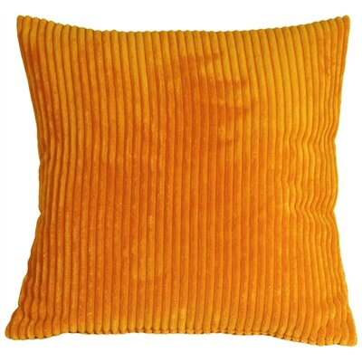 Luciana Throw Pillow Size: 22 H x 22 W x 7 D, Color: Light Orange