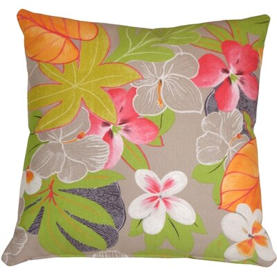 Fleming Floral Throw Pillow