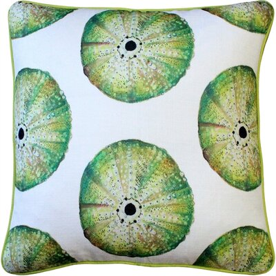 Burnham Sea Urchin Large Scale Throw Pillow