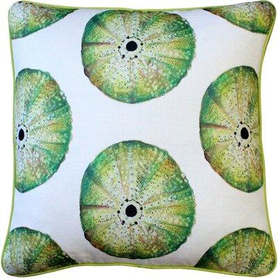 Burnham Sea Urchin Large Scale Throw Pillow