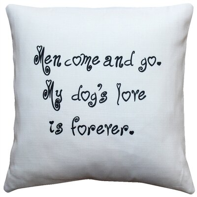 Cherrybrook My Dogs Love is Forever Throw Pillow