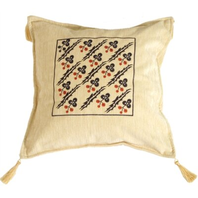 Holly Berry Throw Pillow