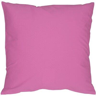 Caravan Cotton Throw Pillow Color: Voilet, Size: 20 H x 20 W x 6 D